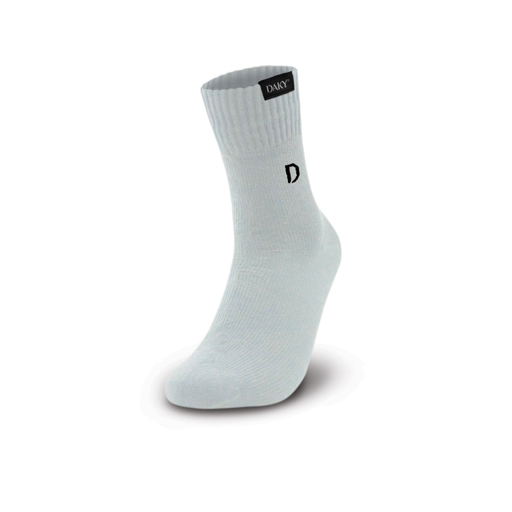 DAKY (PHANTOM X) - WUDU (MASAH) COMPLIANT & WATERPROOF WHITE SOCKS