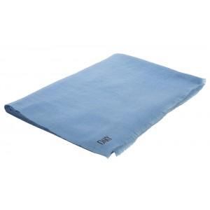 DAKY 100% HANDMADE-PLAIN BABY BLUE PASHMINA