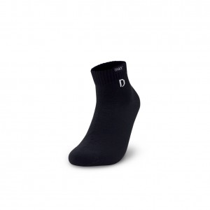DAKY (PHANTOM Y) - WUDU (MASAH) COMPLIANT & WATERPROOF SOCKS (BLACK Over Ankle)