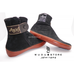 AZAD LEATHER / SUEDE SOCKS (CYCLONE)
