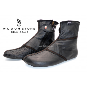 AZAD LEATHER SOCKS (TORNADO)