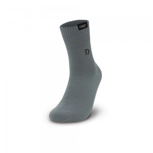DAKY (PHANTOM X) - WUDU (MASAH) COMPLIANT & WATERPROOF GREY SOCKS