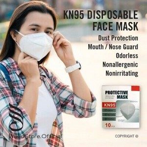KN95 Respirator Face Mask (Individually Wrapped)