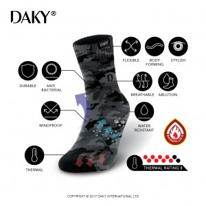 DAKY (ULTIMO) - WUDU (MASAH) COMPLIANT & WATERPROOF SOCKS