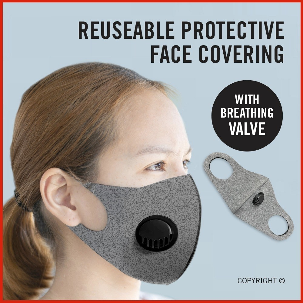 Face Mask Filter Respiratory Mouth Covering Masks